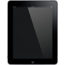 Icon of a tablet